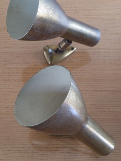 Boris Lacroix Pair of sconces