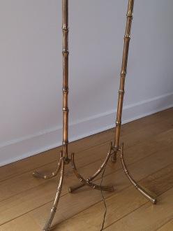 Faux bambou standing lamp - Maison Baguès