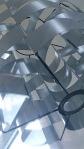 Pair of Max Sauze aluminium shades 1970's