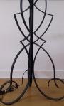 Cast iron standing lamp - Robert Merceris