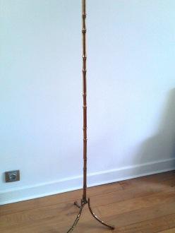 Maison Baguès Faux Bambou Cast Bronze floor lamp