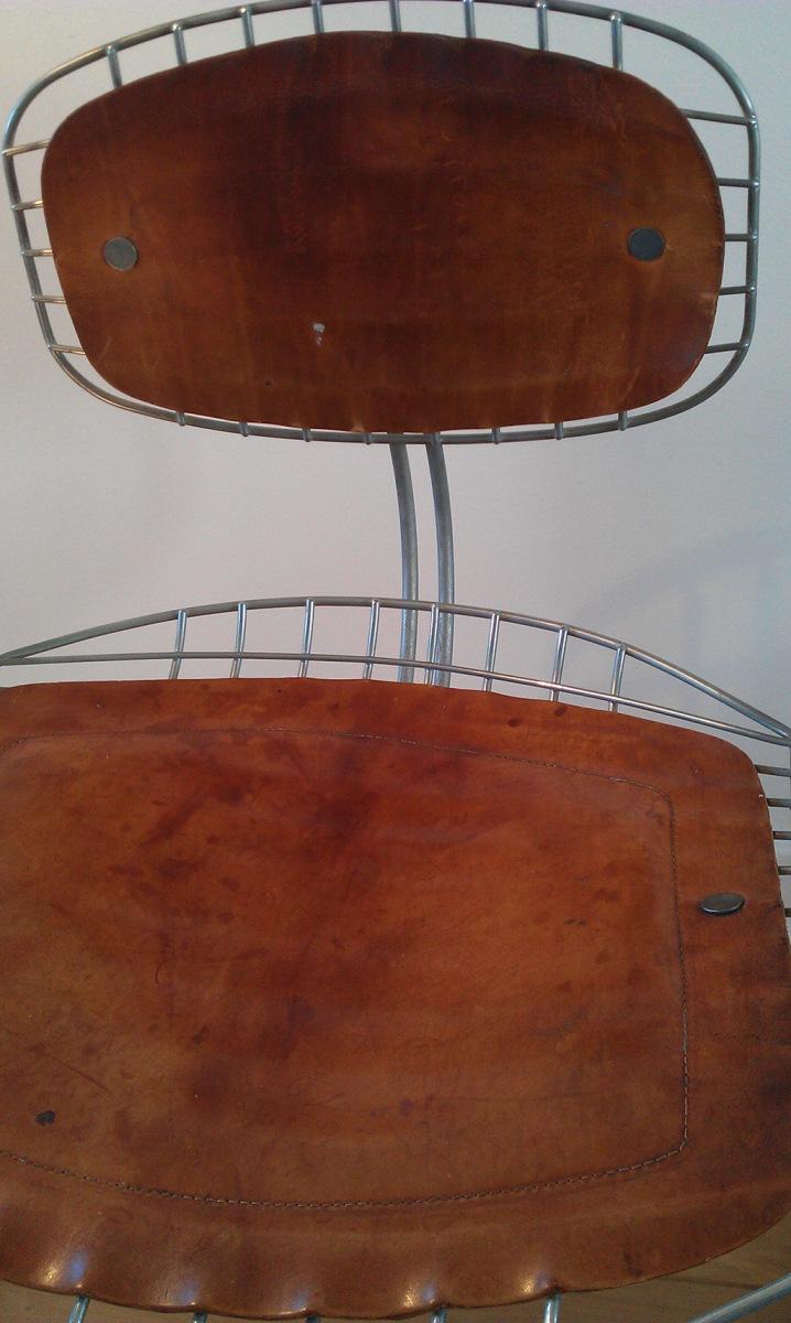 Michel Cadestin Centre Pompidou Library chair