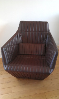 Facett contemporary recliner - Bourroullec Brothers