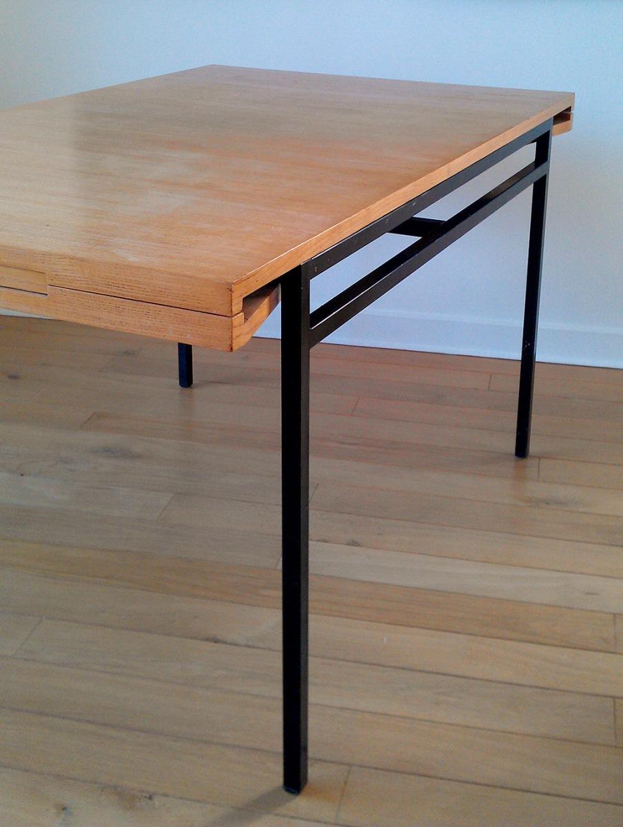 Guariche/Alain Richard Lemon Tree Veneer Table