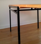 Guariche/Alain Richard Lemon Tree Veneer Table