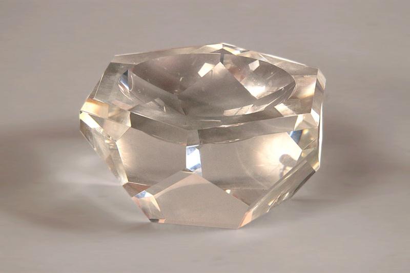Massive Crystal ashtray