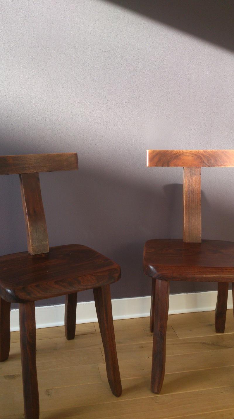 Olavi Hanninen Wenge chairs