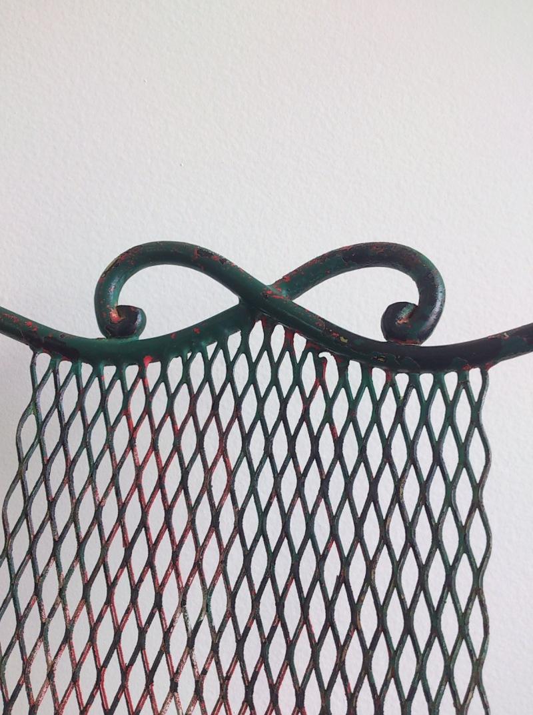 Palais Royal wrought iron chairs