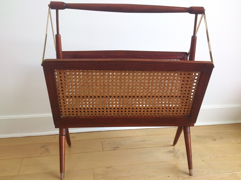 Ercolani foldable newspaper rack - England 1960's