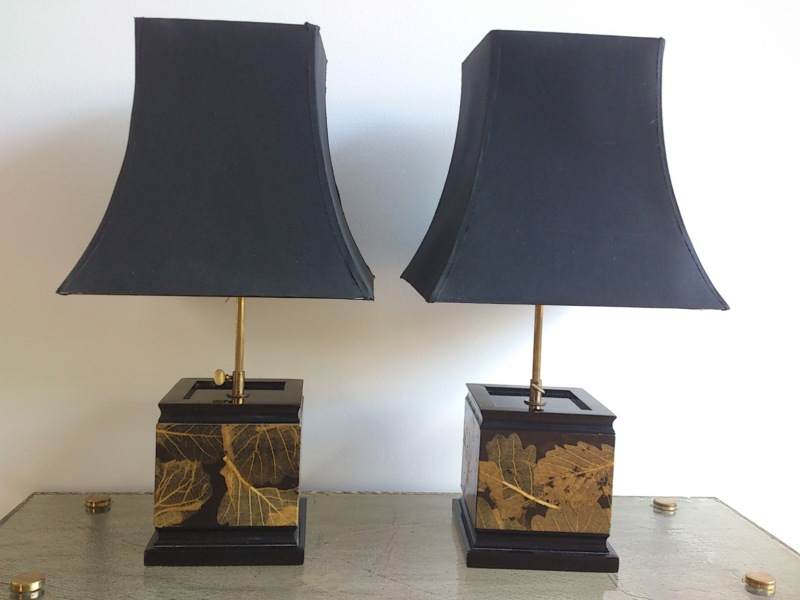 Pair of Herbier lamp - France 1960's